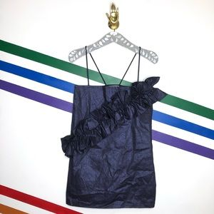 NEW CS-2MASS ruffle glitter dress